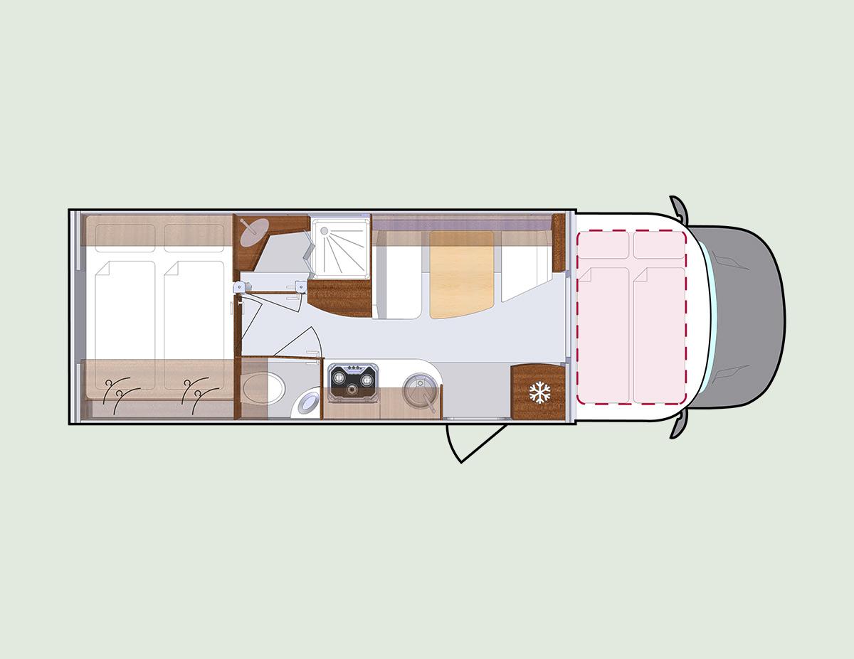 Q19 - PROTEC, Wohnmobile mit beidseitigen Slide Outs über die